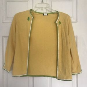 J. Crew Yellow Soft Sweater: Size XS